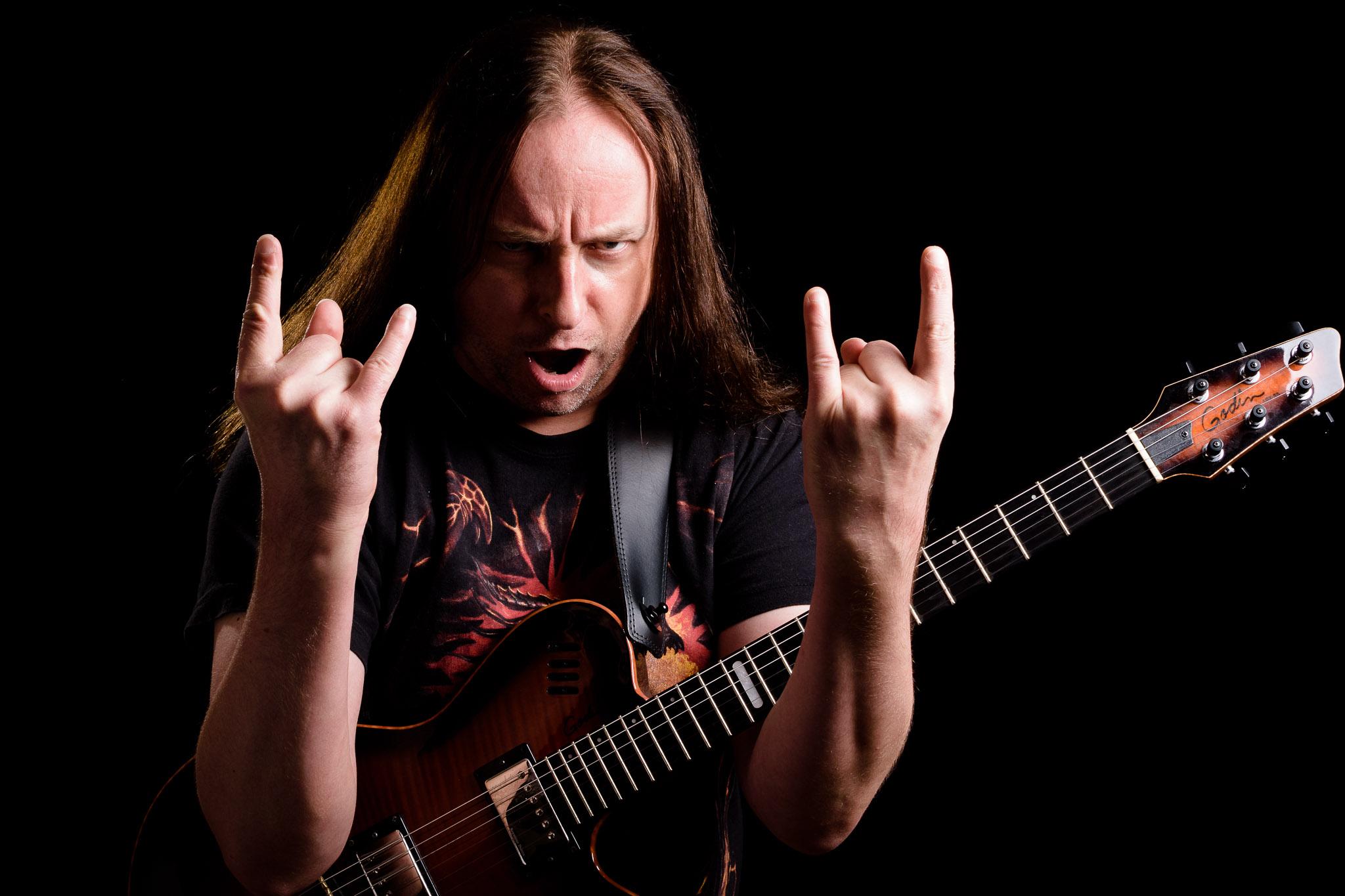 Metal-Gitarre